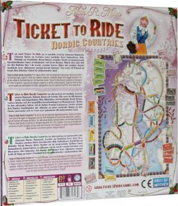 Ticket to Ride Nordic Countries - Back
